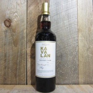 KAVALAN SINGLE MALT SHERRY 115.6 PROOF 750ML