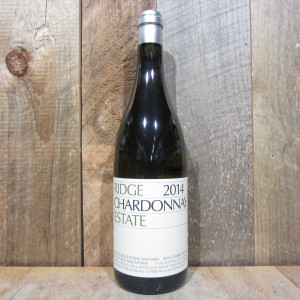 RIDGE ESTATE SANTA CRUZ MOUNTAINS CHARDONNAY 2014 750ML