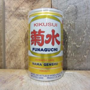 KIKUSUI SHUZO FUNAGUCHI NAMA GENSHU HONJOZO SAKE 200ML (CAN)