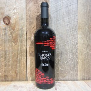 KLINKER BRICK OLD VINE ZINFANDEL 2015 750ML