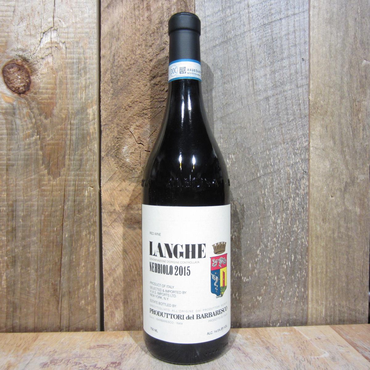 Produttori del Barbaresco Langhe Nebbiolo 2019 750ml