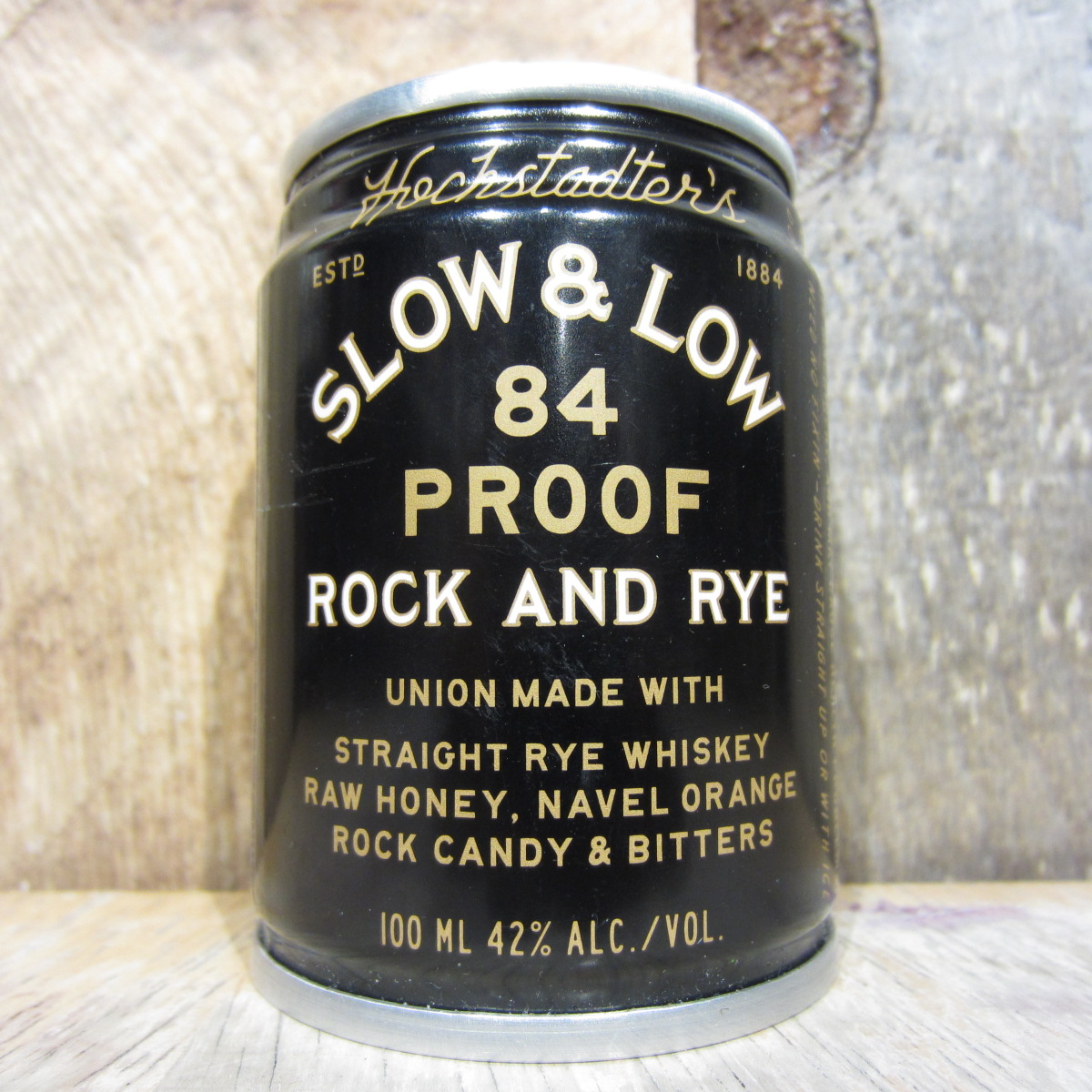 Slow and Low Hochstadters Rock And Rye (Mini Can) 100ml