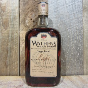 WATHENS SINGLE BARREL BOURBON 750ML