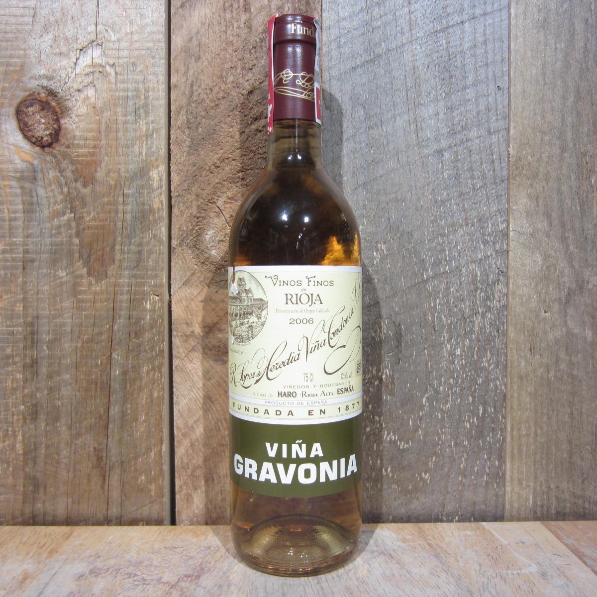 Lopez de Heredia Vina Gravonia Crianza Rioja Blanco 2012 750ml