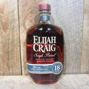 ELIJAH CRAIG BOURBON SINGLE BARREL 18YR 2019 750ML