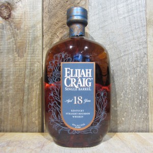 ELIJAH CRAIG BOURBON SINGLE BARREL 18YR 750ML