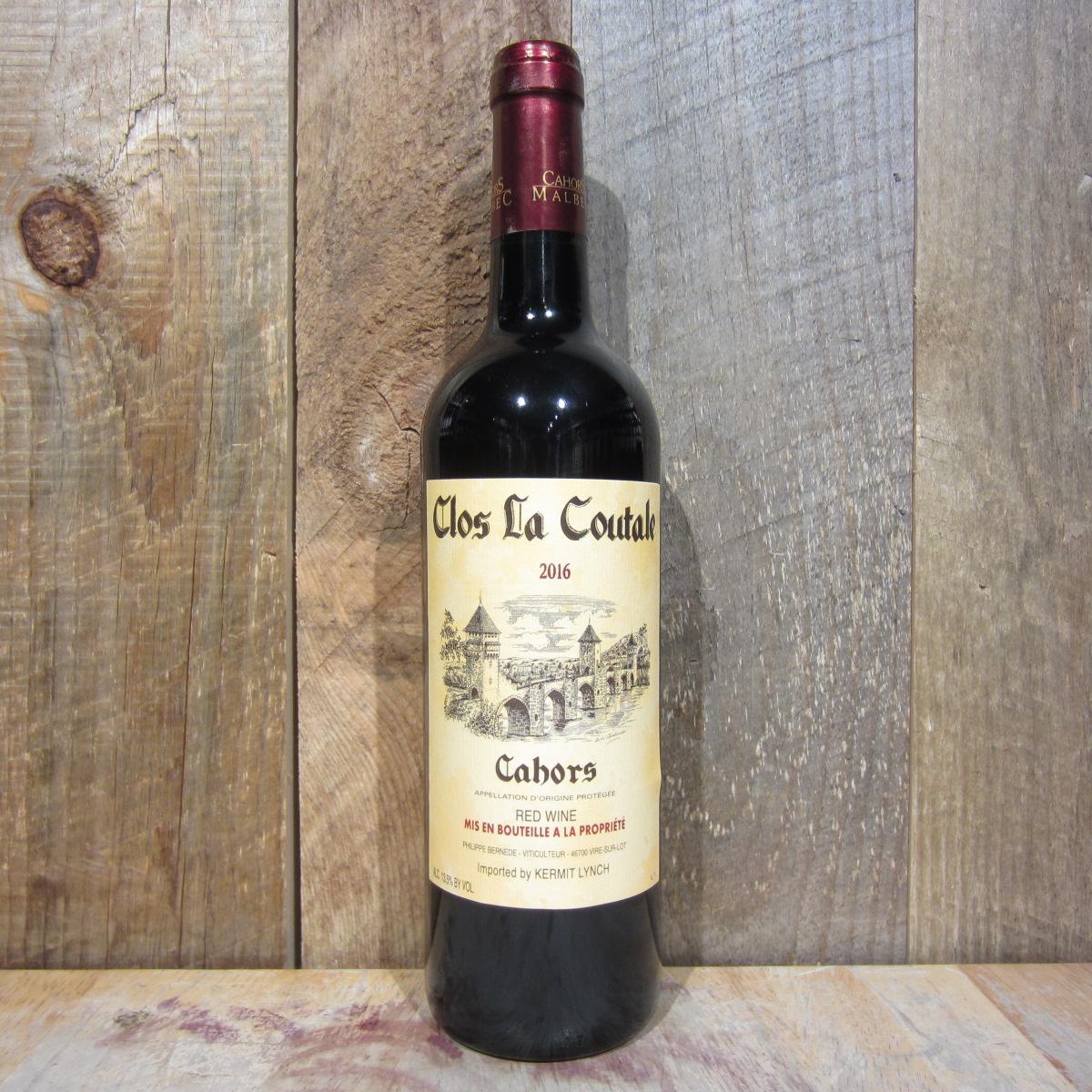 Clos La Coutale Cahors 2017 750ml