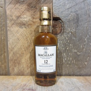 MACALLAN 12YR SHERRY CASK (MINIS) 50ML