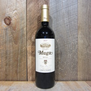 MUGA RIOJA RESERVA UNFILTERED 2013 750ML