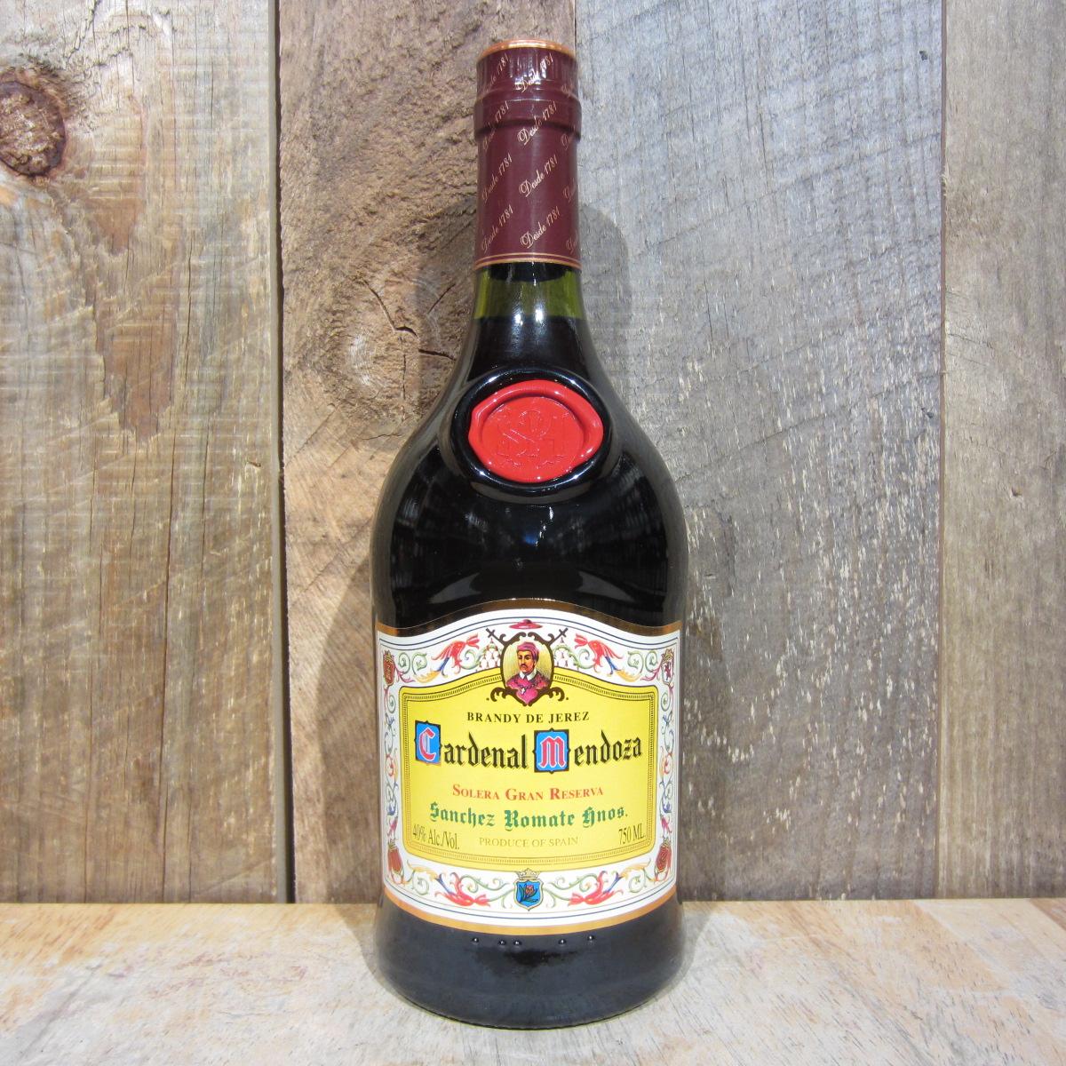 Cardenal Mendoza Brandy de Jerez 750ml