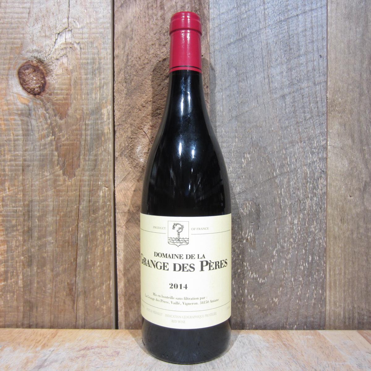 Domaine de La Grange Des Peres Vin de Pays de La'Herault Rouge 2014 750ml