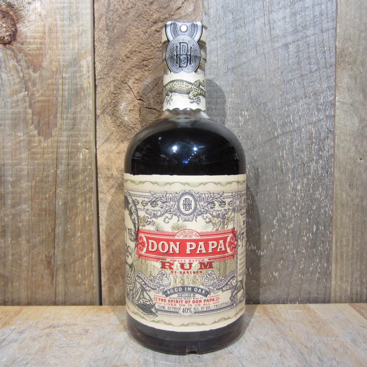 Don Papa Small Batch Rum 750ml