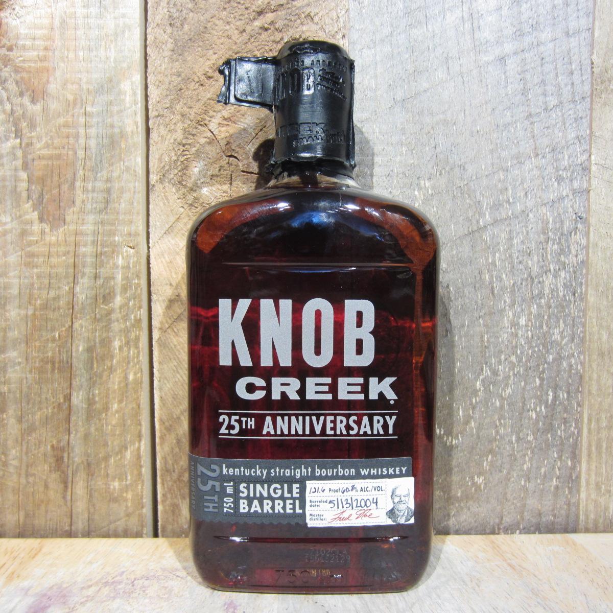 Knob Creek Bourbon Single Barrel 25th Anniversary 750ml