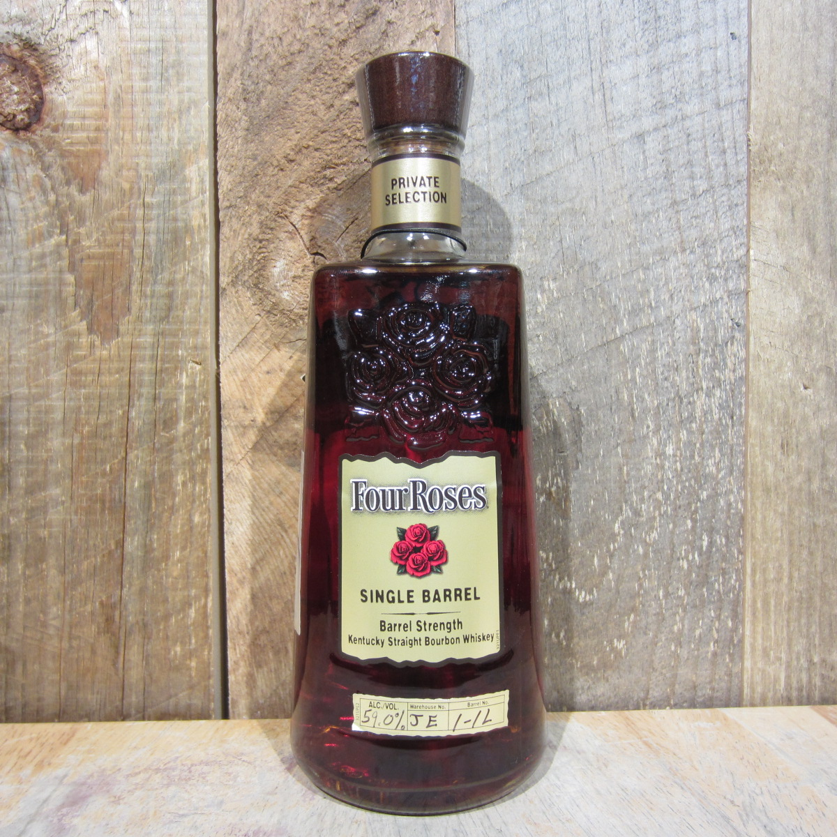Four Roses Single Barrel Bourbon OBSV PS 118 750ml
