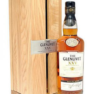 GLENLIVET XXV 25 YEAR OLD SCOTCH 750ML