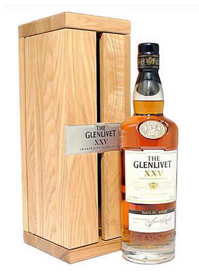 Glenlivet XXV 25 Year Old Scotch 750ml