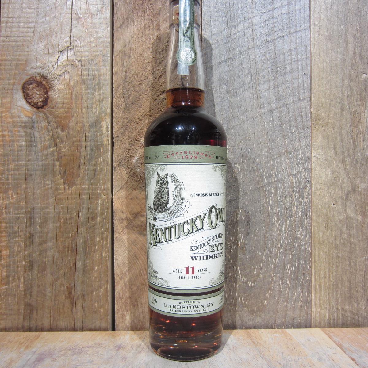 Kentucky Owl Straight Rye Whiskey 11yr Batch 2 750ml