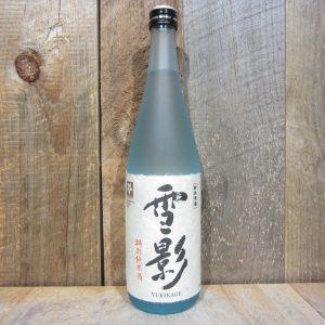 KINSHIHAI SHUZO YUKIKAGE TOKUBETSU JUNMAI SNOW SHADOW 720ML