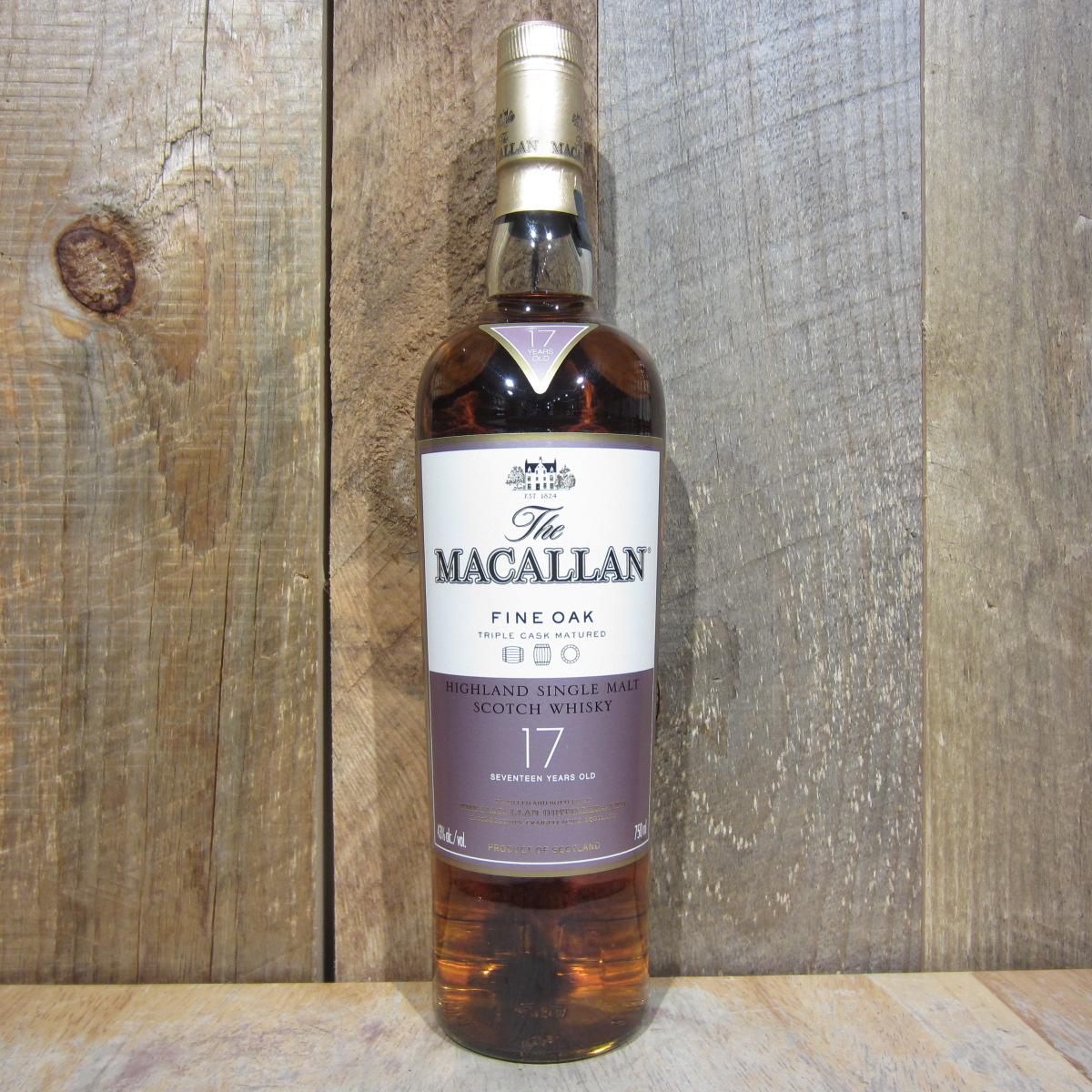 Macallan Fine Oak 17yr 750ml