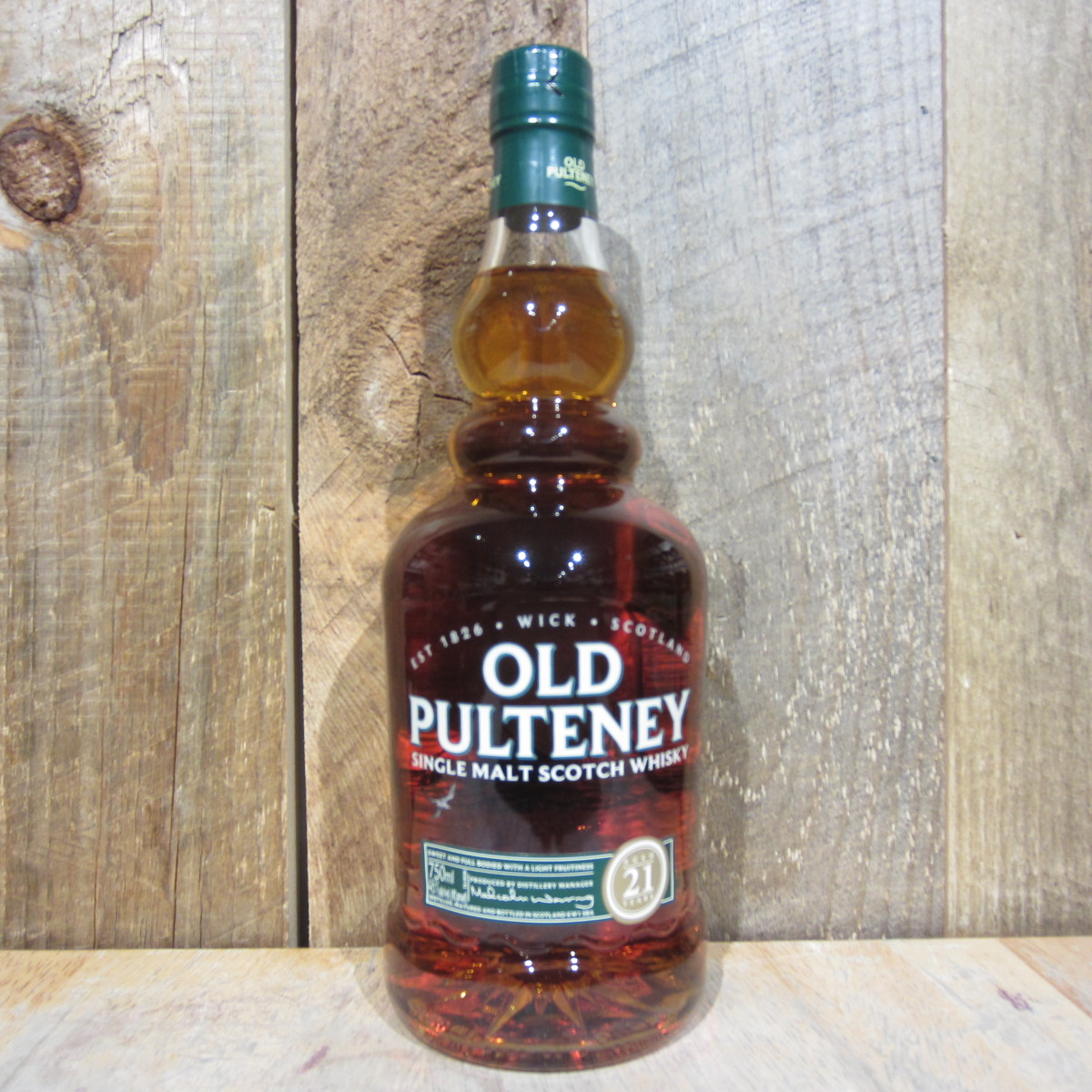 Old Pulteney 21 Year Old Scotch Whiskey 750ml