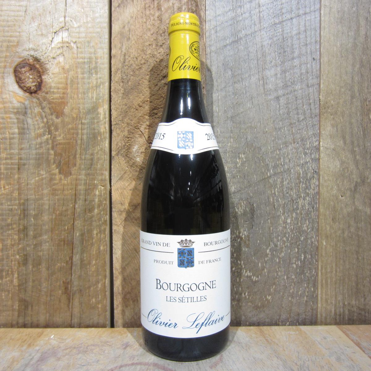 Olivier Leflaive Les Setilles Bourgogne Blanc 2019 750ml