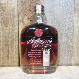 JEFFERSONS PRESIDENTIAL SELECT TWIN OAK 16YR 750ML
