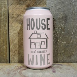 HOUSE WINE ROSE BUBBLES SPARKLING CAN 375ML