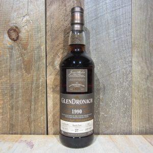 GLENDRONACH 1990 27YR SHERRY CASK 750ML