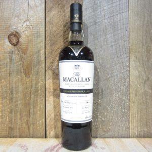 MACALLAN EXCEPTIONAL SINGLE CASK 13561 CASK 7 109.2PF 750ML