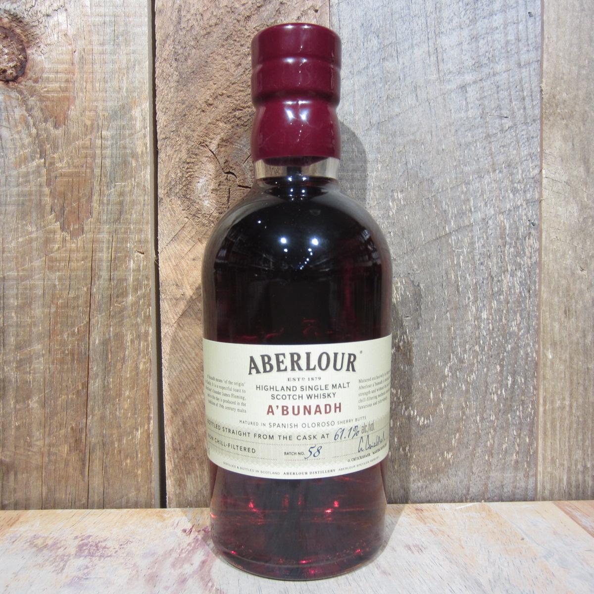 Aberlour Abunadh Scotch 750ml