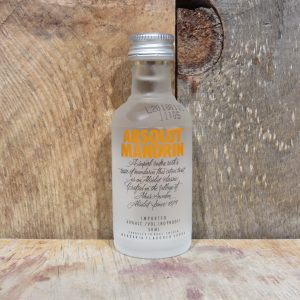 ABSOLUT MANDRIN MINIATURE 50ML