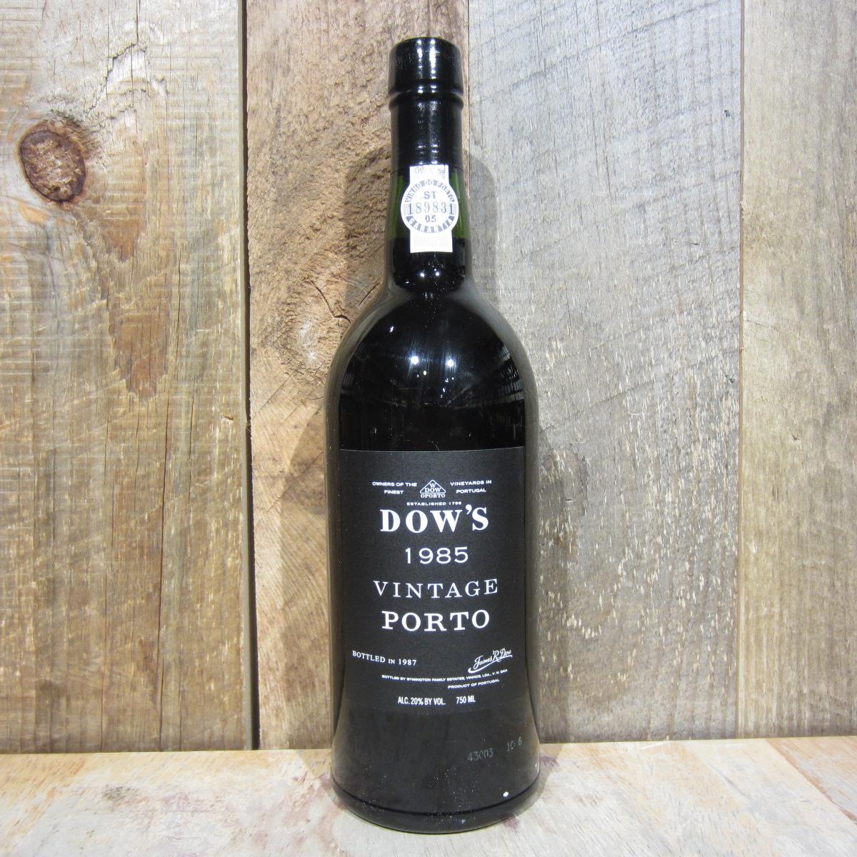 Dows Vintage Port 1985 750ml