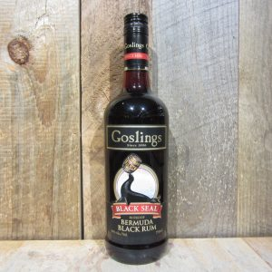 GOSLINGS RUM BLACK SEAL 750ML