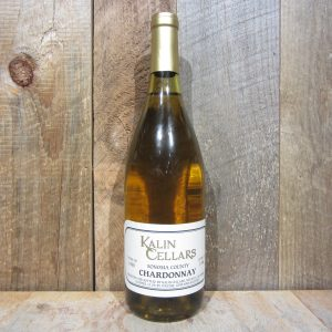 KALIN CELLARS SONOMA CHARDONNAY CUVEE CH 1995 750ML