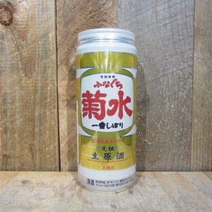 KIKUSUI SHUZO FUNAGUCHI NAMA GENSHU HONJOZO SAKE 1L (CAN)