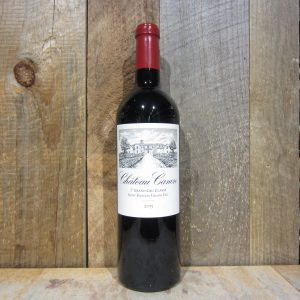 CHATEAU CANON ST EMILION GRAND CRU 2015 750ML