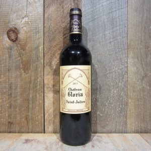 CHATEAU GLORIA SAINT JULIEN 2015 750ML