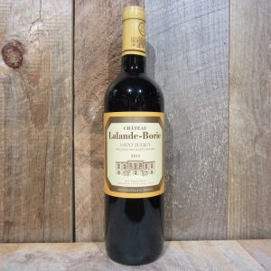 CHATEAU LALANDE-BORIE ST JULIEN 2014 750ML
