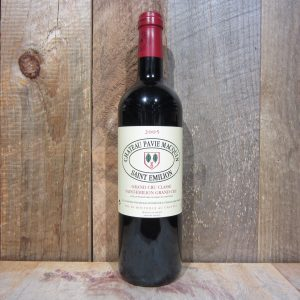 CHATEAU PAVIE MACQUIN ST EMILION 2005 750ML