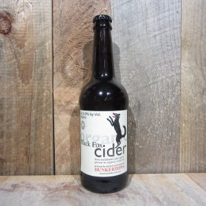DUNKERTONS BLACK FOX ORGANIC APPLE CIDER 500ML
