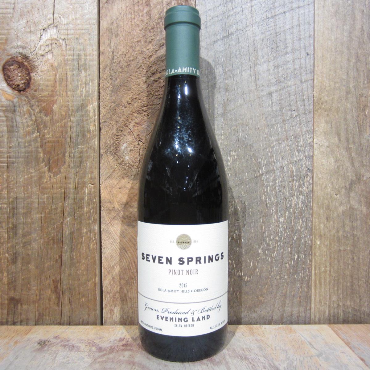 Evening Land Seven Springs Pinot Noir 2018 750ml