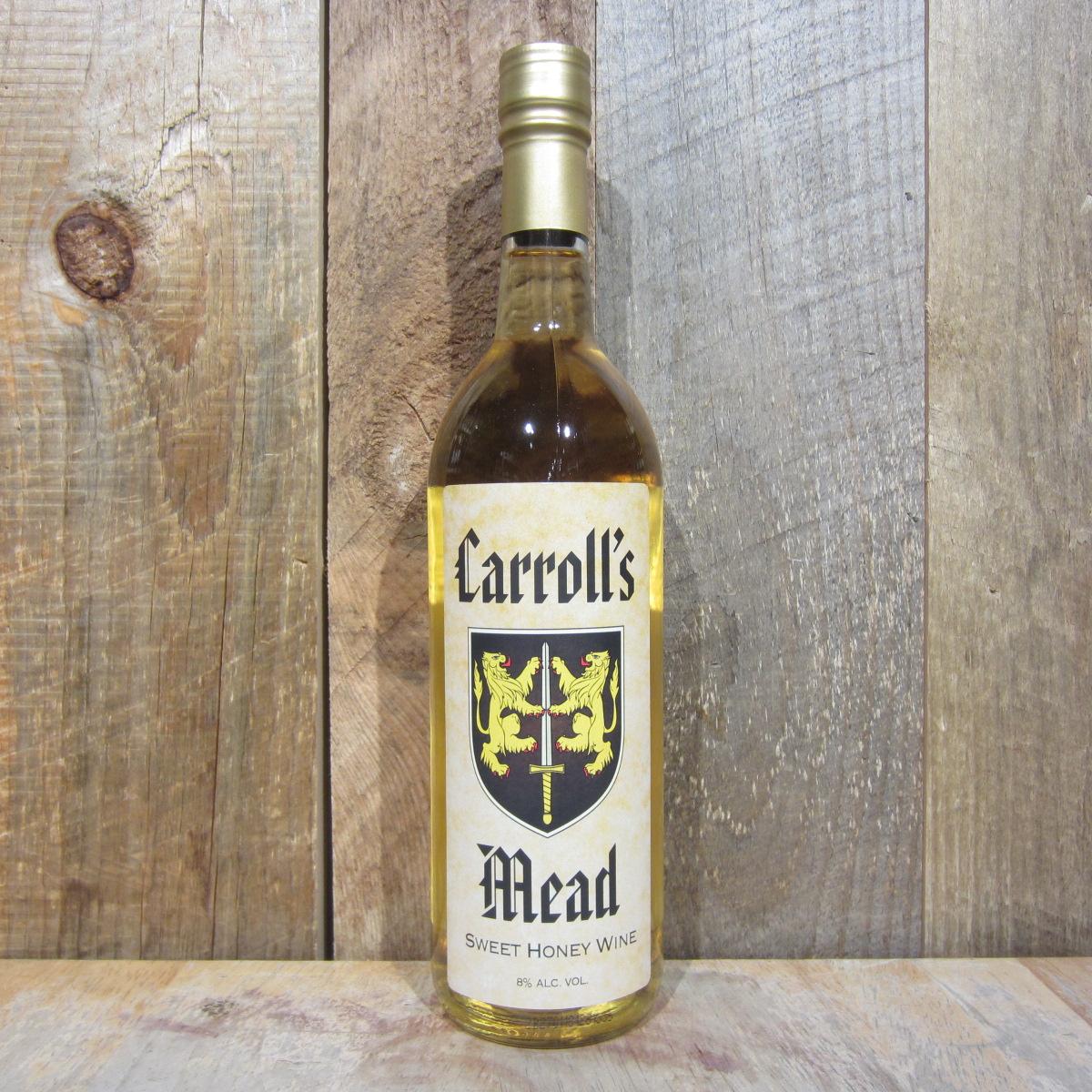 Brotherhood Carrolls Mead Honey 750ml