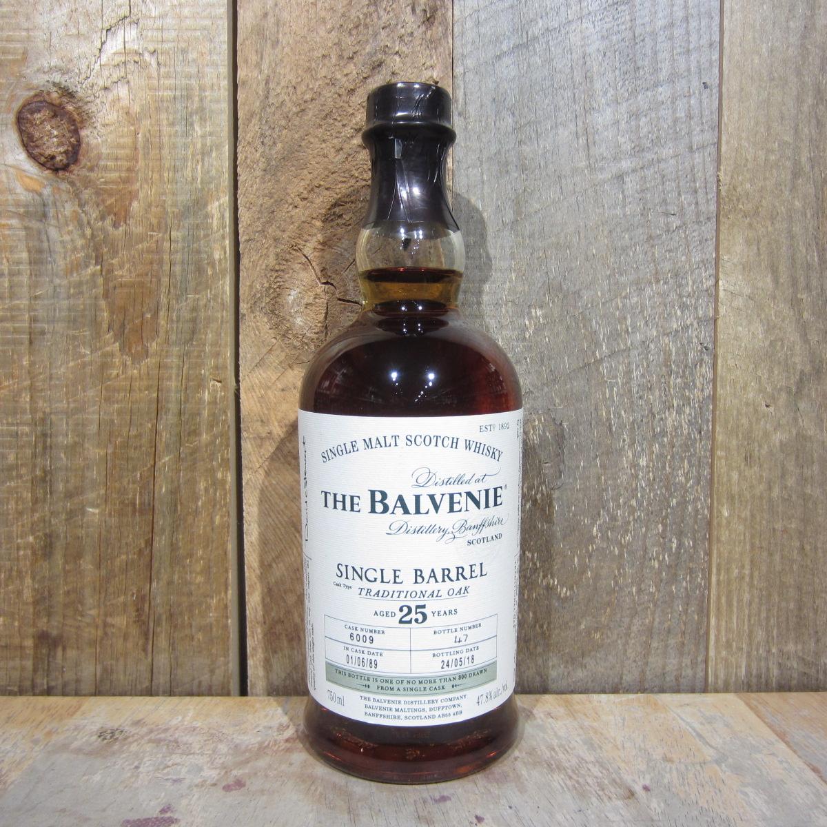 Balvenie Single Barrel 25 Year 750ml
