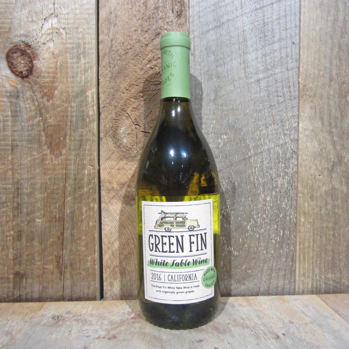 Green Fin Organic White 750ml