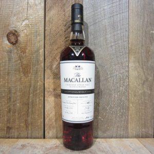 MACALLAN EXCEPTIONAL SINGLE CASK 6513 CASK 5 119.2PF 750ML
