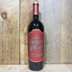 THE GREAT AMERICAN WINE CO RED BLEND 750ML