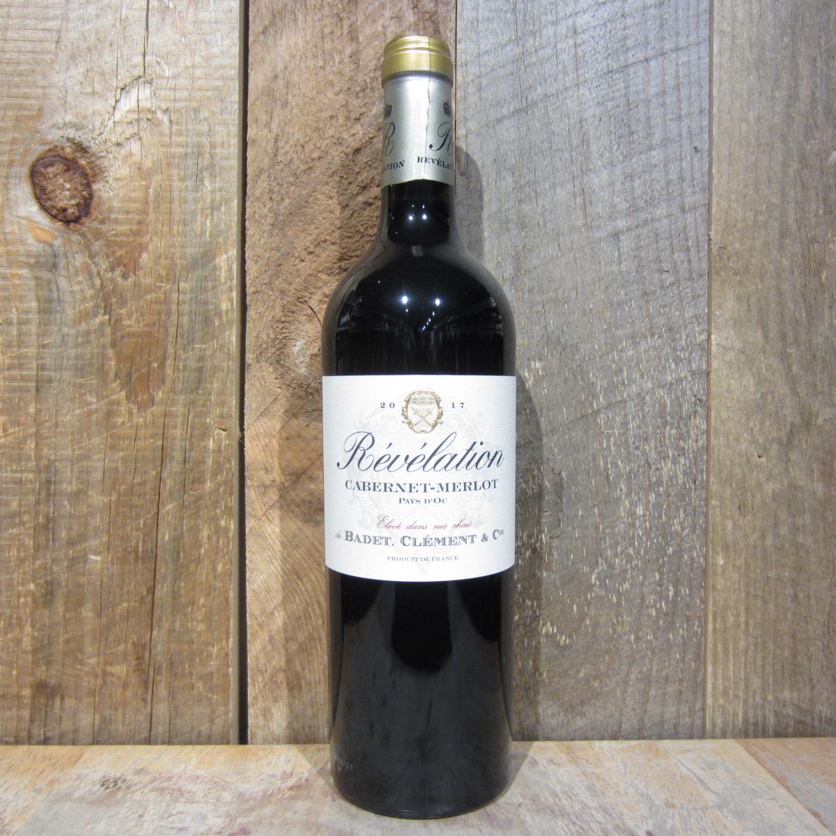 Badet Clement Revelation Cabernet Sauvignon Merlot 750ml