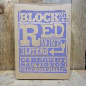Block 67 Cabernet Sauvignon Box Wine 3L
