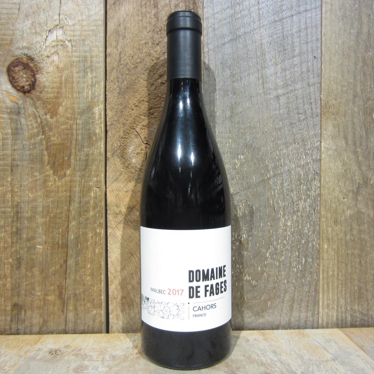 Domaine de Fages Cahors 2017 750ml