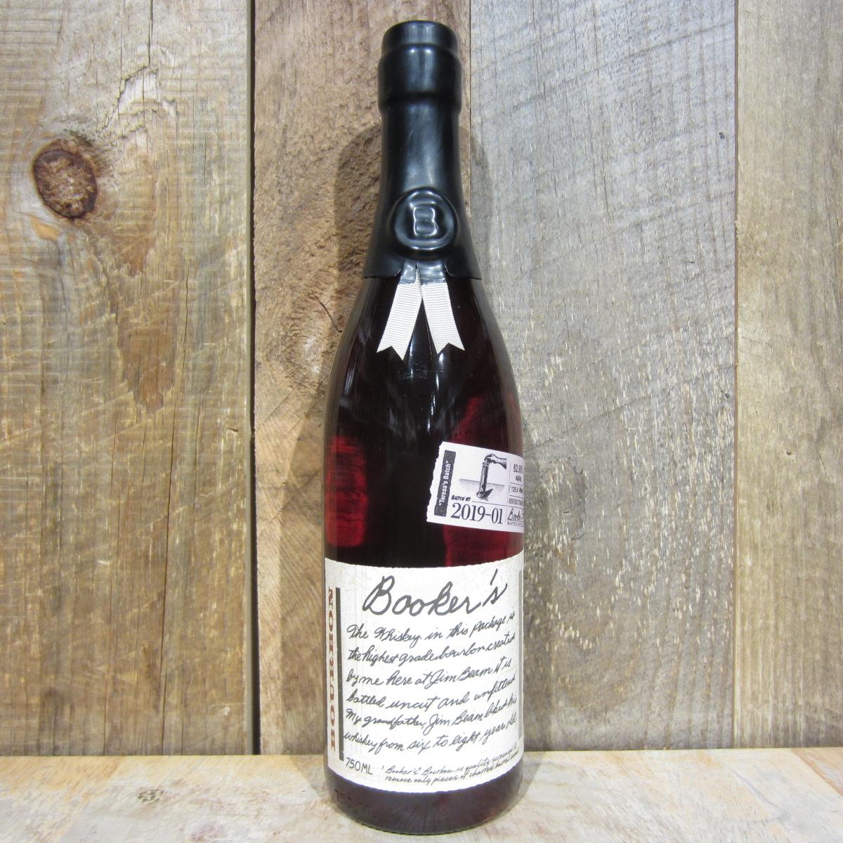 Bookers Bourbon Teresas Batch 125.9 750ml